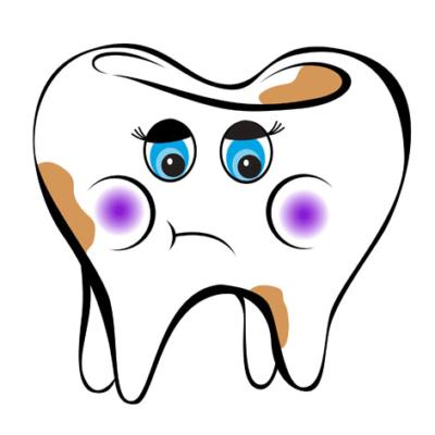Грустный-зубик